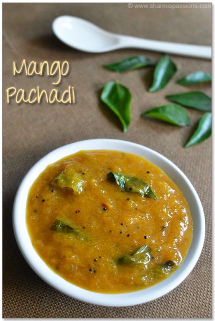 Maanga Pachadi Recipe
