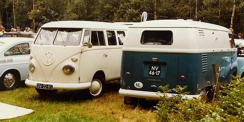 NV-46-17 Volkswagen Transporter bestelwagen 1955