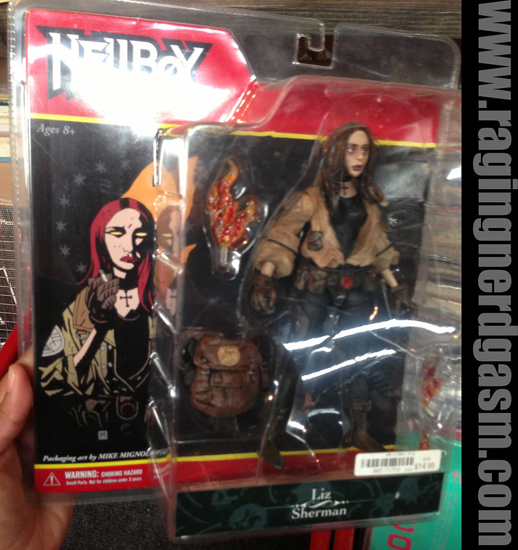 Mezco Toys Present Hellboy Figures - Liz Sherman