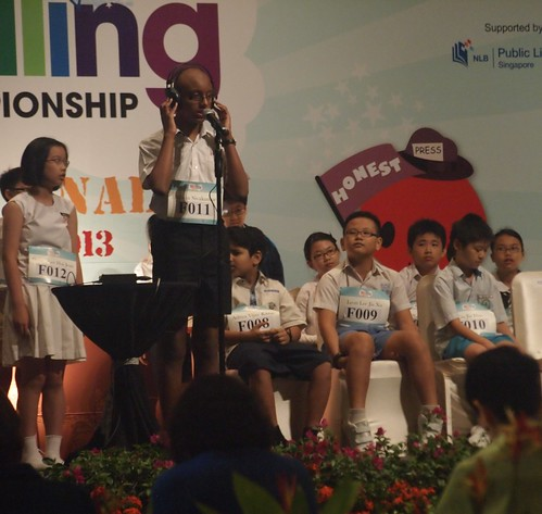 RHB-The Straits Times National Spelling Championship 2013