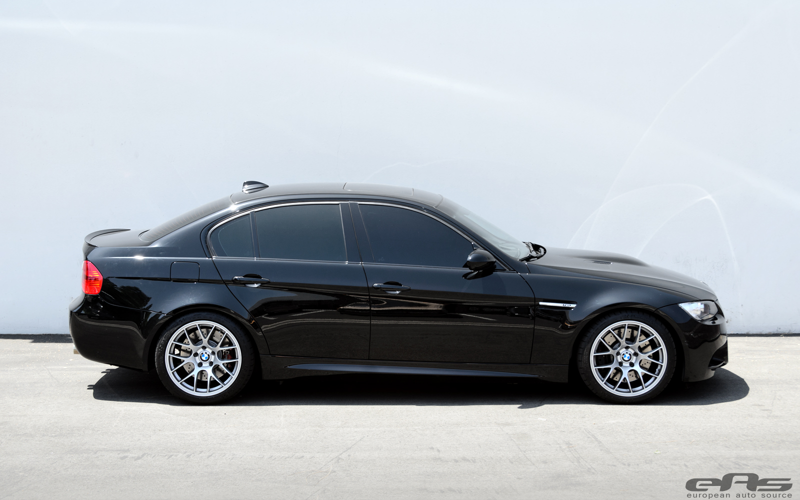 Jet Black E90 M3 On Apex Ec 7 Wheels Bmw Performance Parts Services