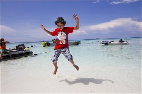 At Koh Tachai island