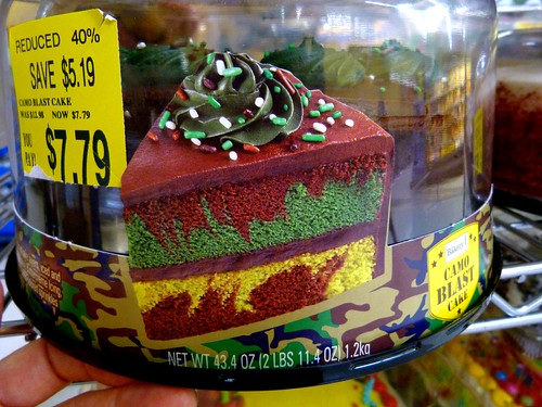 camouflage cakes at walmart