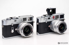 Leica M4 + ZM 28mm Biogon and a Leica M6 + ZM 25mm Biogon