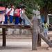 Children Exit the Rong House School Session - Kon K'Tu, Vietnam by ChrisGoldNY