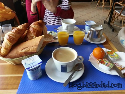 Desayuno Hotel cote d´Argent