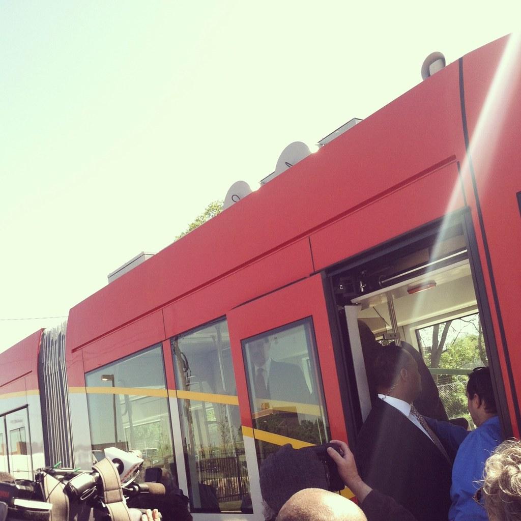 Clamoring for a peek inside Streetcar #1