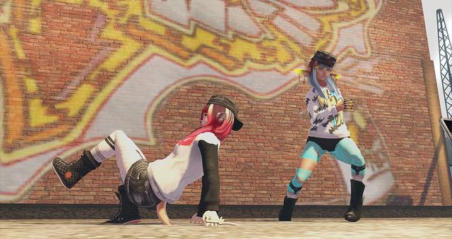 U10 & Chinmi Dancing!! 02