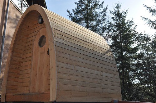 Timber Arc Compost Toilet