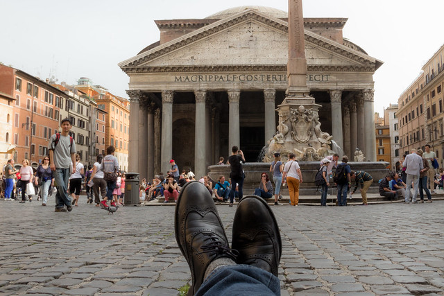The Pantheon - Rome - Traveling Boots