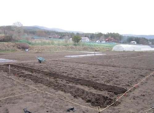 畑仕事の開始 2013年5月4日16:00 by Poran111