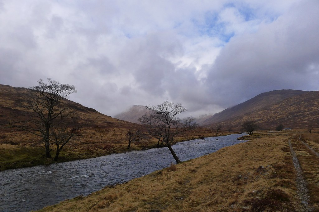 River in Upper Glen Scaddle