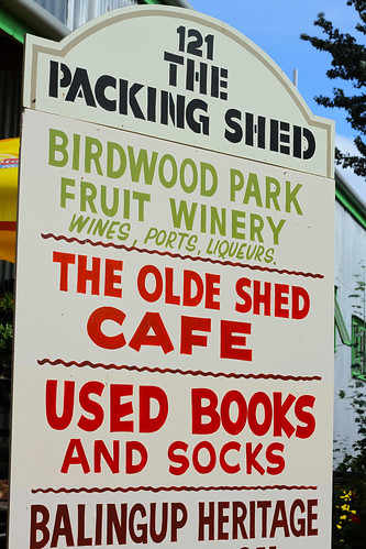 Balingup - The Packing Shed Sign