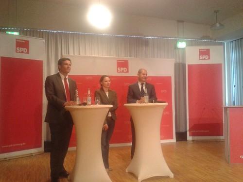 Talk zur Wahl mit Olaf Scholz und Metin Hakverdi