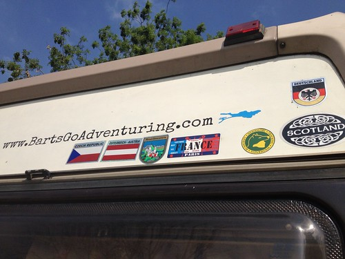 campervan country stickers