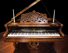piano, musical keyboard, keyboard, harpsichord, fortepiano, spinet, player piano,