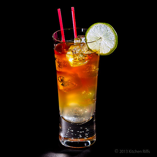 Kitchen Riffs: The Dark and Stormy Cocktail