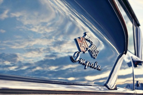 '58 Impala detail. Photo copyright Jen Baker/Liberty Images; all rights reserved.