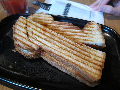 Sobrassada, Cheese and Honey Sandwich