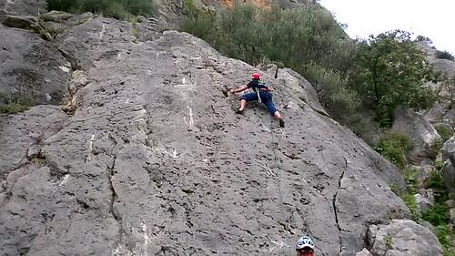 Curso de escalada deportiva Aula Vertical 1