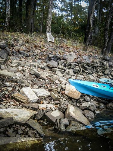Savannah River from Stokes Bluff with LCU Nov 7, 2014, 4-18 PM Nov 8, 2014, 9-040