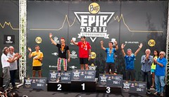 Kříž vybojoval páté místo v Ultra Buff Epic Run, Urbancová desátá