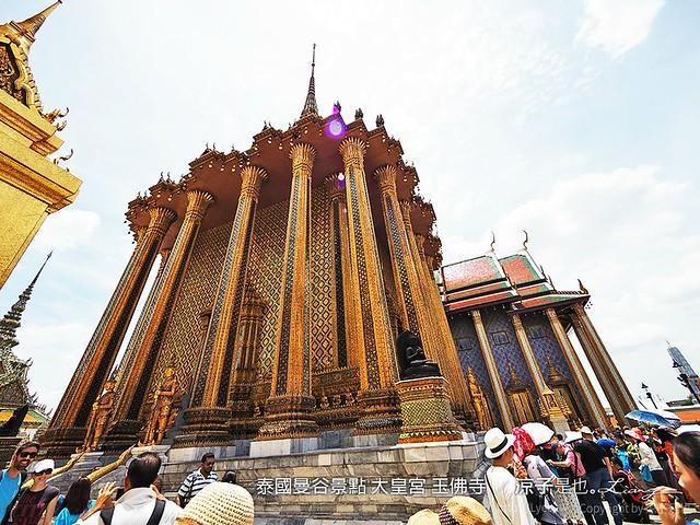 泰國曼谷景點 大皇宮 玉佛寺  74