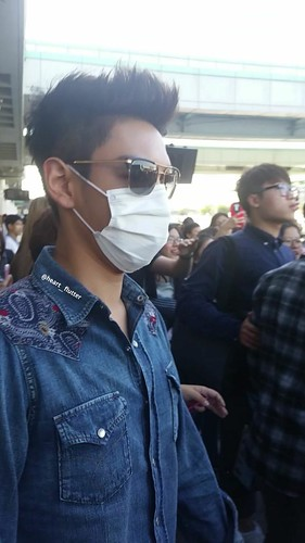 Big Bang - Gimpo Airport - 20may2015 - TOP - heart__flutter - 02