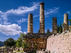 Delphi, Apollo Temple