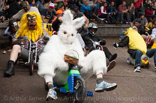 Easter Bunny in the Lead