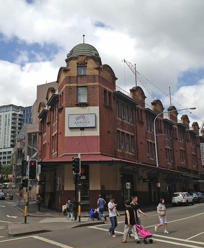 Aarons Hotel, Haymarket, Sydney.