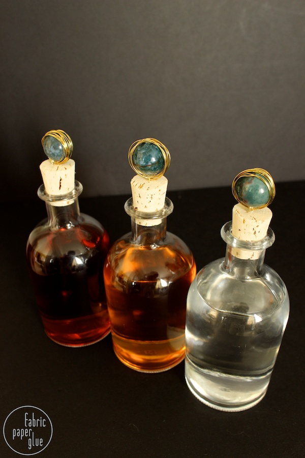 Marble-Topped Spirit Bottles 7