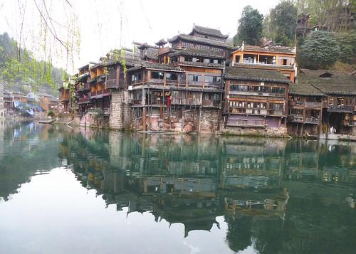 Hunan13-Fenghuang-Ville-Rive Nord (61)
