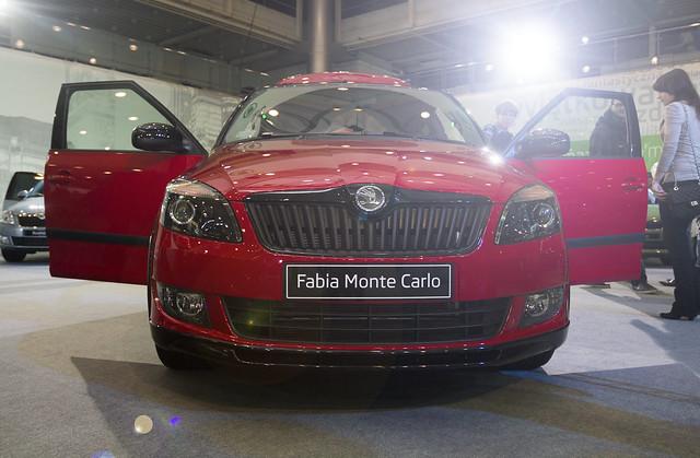Skoda Fabia Monte Carlo - Motor Show Poznań