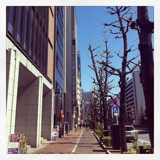 Ginza, Tokyo. I am on my way to Bikram yoga studio. #ichigonewjourney #bikramyoga #tokyo