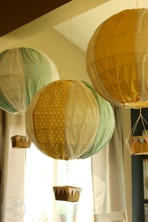 DIY Hot Air Balloons 5