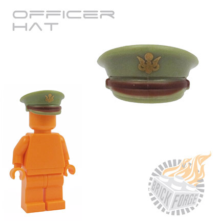 Officer Hat - Olive Green (US Army)