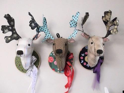 Charlie barlee reindeer heads