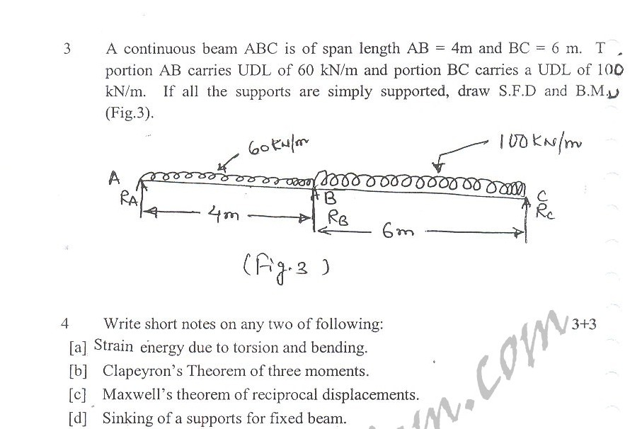 DTU Question Papers 2010 – 5 Semester - Mid Sem - ME-302