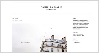 Mention About Paris in Four Months on Daniella Marie