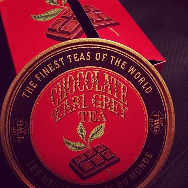 #TWG# #Chocolate# #Earl Grey# #Tea# 驚艷好茶, 巧克力與伯爵茶在跳舞呢!