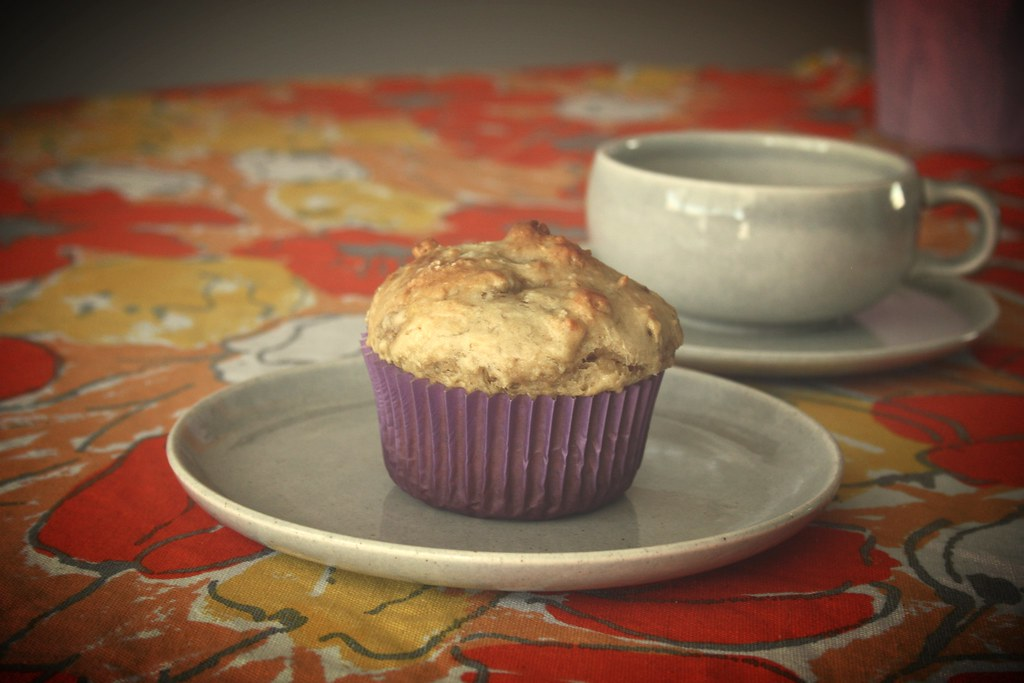 Nasoya banana muffins by rooted vegan