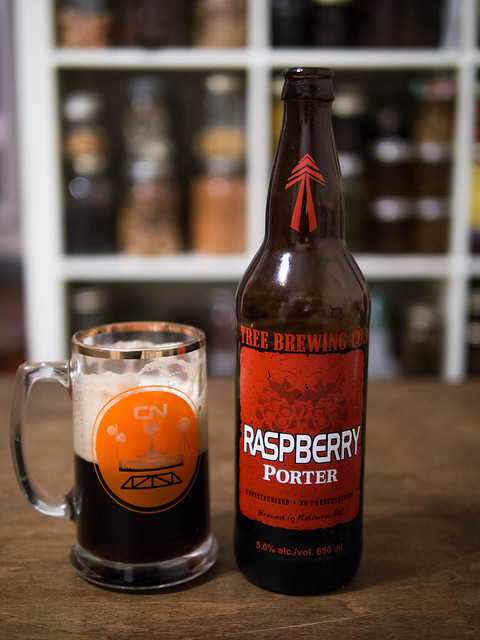 raspberry porter, raspberry porter review, tree brewing company review, craft beer toronto review