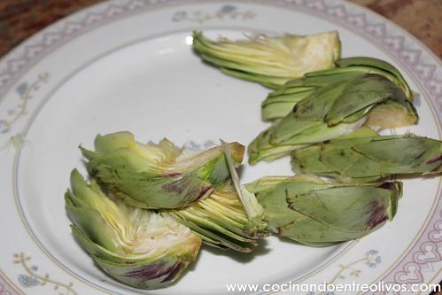 Alcachofas fritas www.cocinandoentreolivos (6)