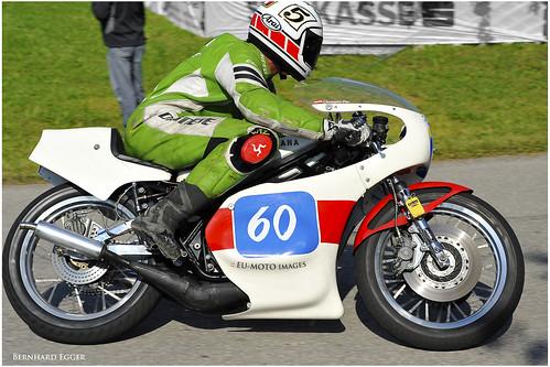 Yamaha TZ 350 1975 Eder Oldtimer Grand Prix 2010 Schwanenstadt Austria Copyright Bernhard Egger :: eu-moto images 5566