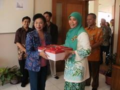 Kunjungan Ibu Gubernur Jawa Barat