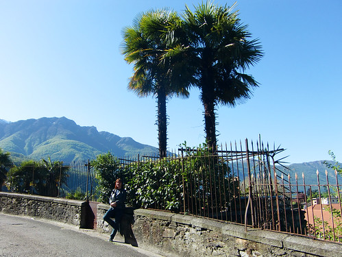Frühling in Bellinzona Castelgrande