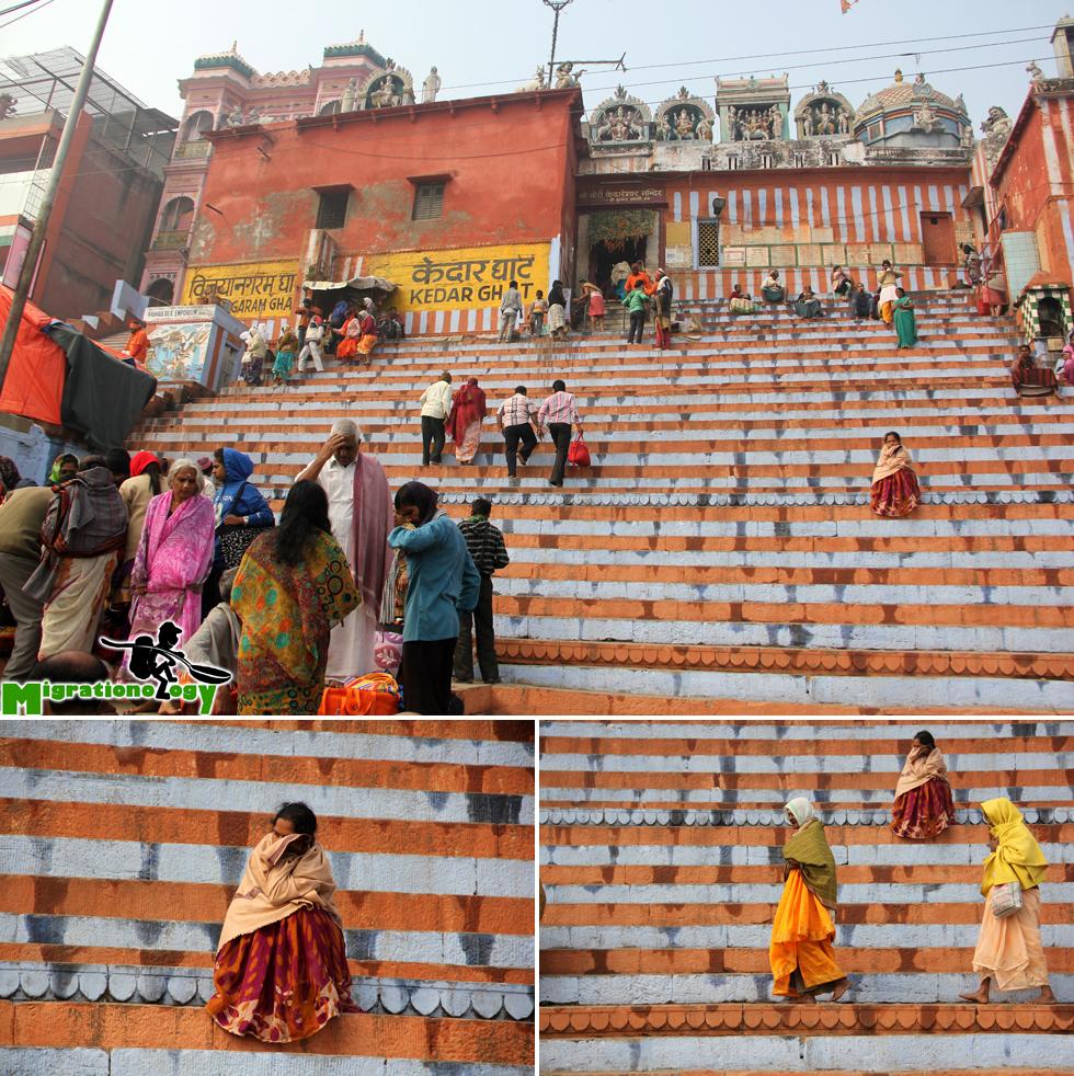 Colorful Kedar Ghat