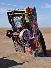 Cadillac Ranch - Graffiti Car
