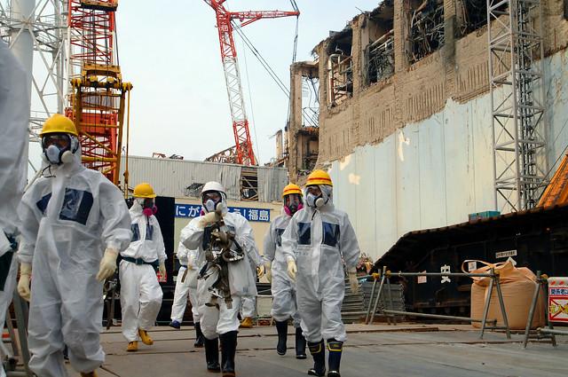Photo of Fukushima Daiichi